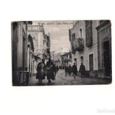 Postales: CEUTA.- CALLE ALFONSO XII.. Lote 165041402