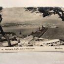 Postales: CEUTA. POSTAL NO.42, UNA VISTA DE CEUTA DESDE EL MONTE HACHO. EDITA: FOTO RUBIO (H.1950?) CIRCULADA. Lote 168116537