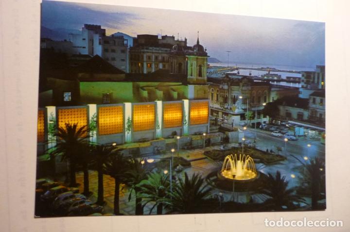 POSTAL CEUTA NOCTURNA PL.DE LOS REYES (Postales - España - Ceuta Moderna (desde 1940))