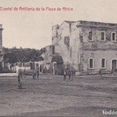Postales: CEUTA - CUARTEL DE ARTILLERIA DE LA PLAZA DE AFRICA. Lote 170325132