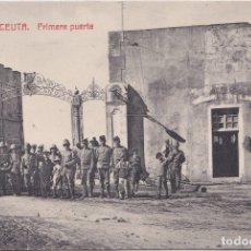 Postales: CEUTA - PRIMERA PUERTA. Lote 172916959