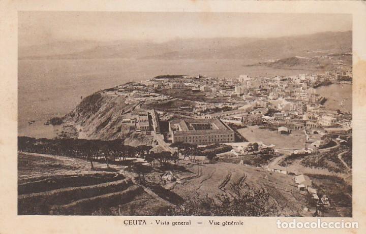 Postales: Antigua cartera Colección Vistas de Ceuta, Serie 1 A. Contiene 5 postales. Escritas en 1940. ff - Foto 4 - 173733003