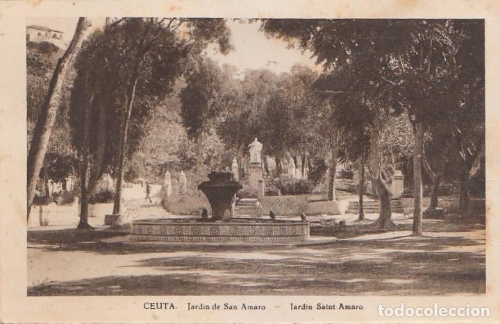 Postales: Antigua cartera Colección Vistas de Ceuta, Serie 1 A. Contiene 5 postales. Escritas en 1940. ff - Foto 5 - 173733003