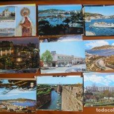 Postales: LOTE DE 50 POSTALES DE CEUTA AÑOS 60 Y 70 EN COLOR - TODAS DISTINTAS - ENVIO GRATIS-VER FOTOS. Lote 176424152