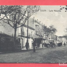Postales: CEUTA- 10- CALLE REBELLIN- EDITOR MANUEL BARREIRO, SIN CIRCULAR, VER FOTOS. Lote 177077890