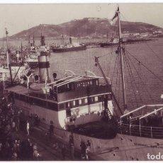 Postales: CEUTA: EL PUERTO. FRANCISCO RUBIO. ESCRITA / NO CIRCULADA (1930). Lote 178338141
