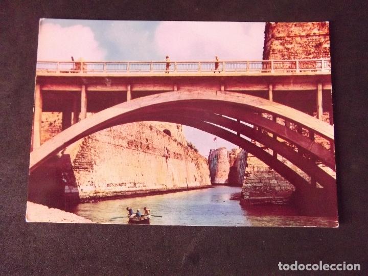 CEUTA-V2-PUENTE NUEVO Y FOSO-DL B.25.483-64 (Postales - España - Ceuta Moderna (desde 1940))