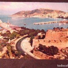 Postales: CEUTA-V2-ENTRADA A LA CIUDAD,DESDE LA AVENIDA DE AFRICA-ESCRITA. Lote 178989052