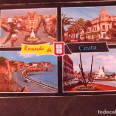 Postales: CEUTA-V2-RECUERDO-ESCRITA. Lote 178989133