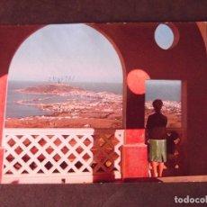 Postales: CEUTA-V2-MIRADOR DE GARCIA A.-ESCRITA. Lote 178989170
