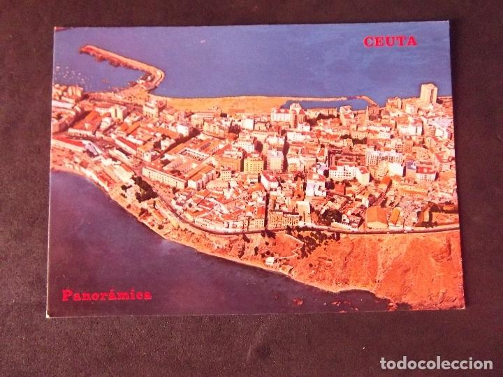 CEUTA-V2-ESCRITA-VISTA PARCIAL (Postales - España - Ceuta Moderna (desde 1940))