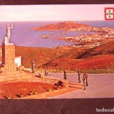 Postales: CEUTA-V2-NO ESCRITA-VISTA DESDE EL ACUARTELAMIENTO LA LEGION. Lote 178989368