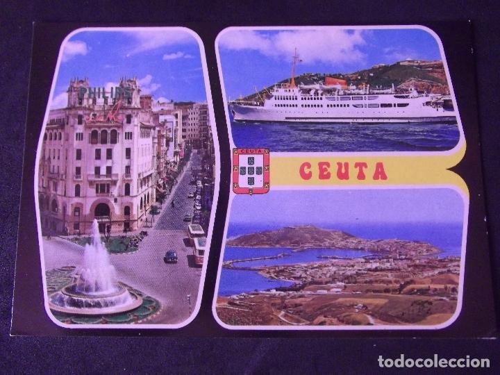 CEUTA-V2-NO ESCRITA-BELLEZAS DE LA CIUDAD (Postales - España - Ceuta Moderna (desde 1940))