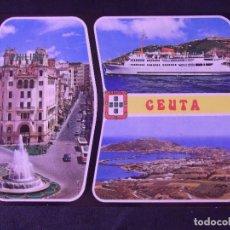 Postales: CEUTA-V2-NO ESCRITA-BELLEZAS DE LA CIUDAD. Lote 178989422