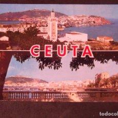 Postales: CEUTA-V2-NO ESCRITA-VISTA GENERAL. Lote 178989488