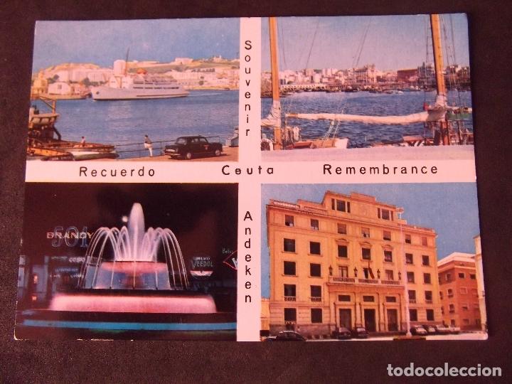 CEUTA-V2-NO ESCRITA-CORREOS-VISTA PARCIAL (Postales - España - Ceuta Moderna (desde 1940))