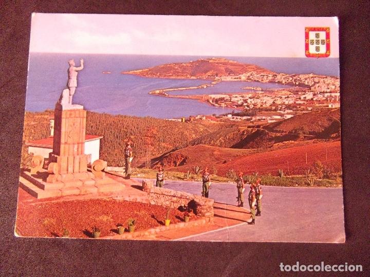 CEUTA-V2-NO ESCRITA-VISTA DESDE EL ACUARTELAMIENTO LA LEGION (Postales - España - Ceuta Moderna (desde 1940))
