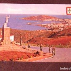 Postales: CEUTA-V2-NO ESCRITA-VISTA DESDE EL ACUARTELAMIENTO LA LEGION. Lote 178989543