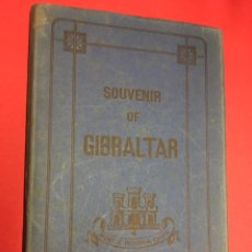 Postales: SOUVENIR OF GIBRALTAR. EDICIÓN V.B.CUMBO. BLOC DE 10 POSTALES EN ACORDEÓN.. Lote 179584885
