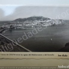 Postales: EL ISTMO DE CEUTA . Lote 180092063