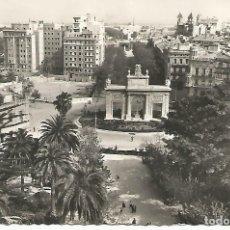 Postales: VALENCIA.PANORÁMICA DEL MONUMENTO DE LOS CAÍDOS.ESCRITA Y CIRCULADA. Lote 181022388