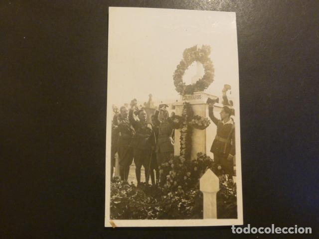 RIFFIEN CEUTA CUARTEL DE LA LEGION POSTAL FOTOGRAFICA LEGIONARIOS HOMENAJE EN MONUMENTO ROS FOTOGRAF (Postales - España - Ceuta Antigua (hasta 1939))