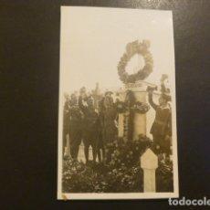 Postales: RIFFIEN CEUTA CUARTEL DE LA LEGION POSTAL FOTOGRAFICA LEGIONARIOS HOMENAJE EN MONUMENTO ROS FOTOGRAF. Lote 182169040