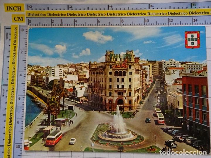 POSTAL DE CEUTA. AÑO 1967. PLAZA DEL GENERAL GALERA. 3101 (Postales - España - Ceuta Moderna (desde 1940))