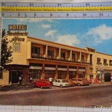 Postales: POSTAL DE CEUTA. AÑO 1970 RESIDENCIA HOTEL ÁFRICA. COCHES GASOLINERA. 3106. Lote 182230871