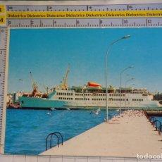 Postales: POSTAL DE CEUTA. AÑO 1974. BUQUE BARCO TRANSBORDADOR TRASMEDITERRANEA . 3114. Lote 182231328