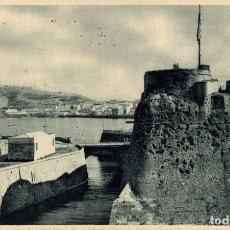 Postales: CEUTA - VISTA PARCIAL Y FOSO DE LA MURALLA REAL. Lote 182583137