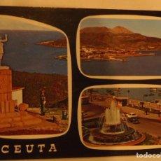 Postales: POSTAL - 58 - CEUTA - BELLEZAS DE LA CIUDAD - ED. GARCIA GARRABELLA-SIN CIRCULAR-(LEGIONARIOS). Lote 184450456
