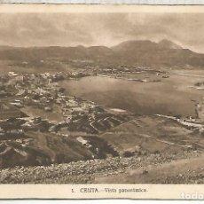 Postales: CEUTA ESCRITA. Lote 184794581