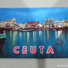 Postales: CEUTA - VISTA NOCTURNA - ESCRITA. Lote 184858837