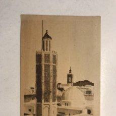 Postales: TETUÁN. POSTAL MEZQUITA DE SIDI BENAZUM. EDITA: ARRIBAS (A.1941) CIRCULADA.... Lote 190029943