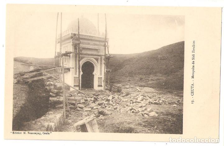 CEUTA. MEZQUITA DE SIDI IBRAHIM. (Postales - España - Ceuta Antigua (hasta 1939))