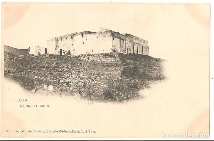 CEUTA. SERRALLO MORO. (Postales - España - Ceuta Antigua (hasta 1939))