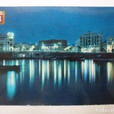 Cartes Postales: POSTAL. 10. CEUTA. VISTA NOCTURNA. ESCUDO DE ORO. CIRCULADA EN 1964.. Lote 190417058