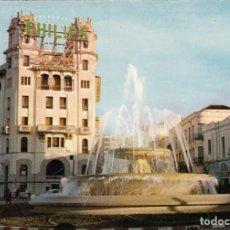Postales: CEUTA. Nº 23. PLAZA GENERAL GALERA. FUENTE. ESCUDO DE ORO. SIN CIRCULAR.. Lote 193016250
