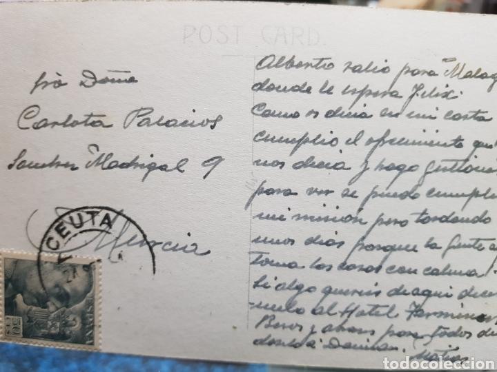 Postales: ANTIGUA POSTAL CEUTA FOSO FORTALEZAS PORTUGUESAS FOTO RUBIO - Foto 2 - 193632056