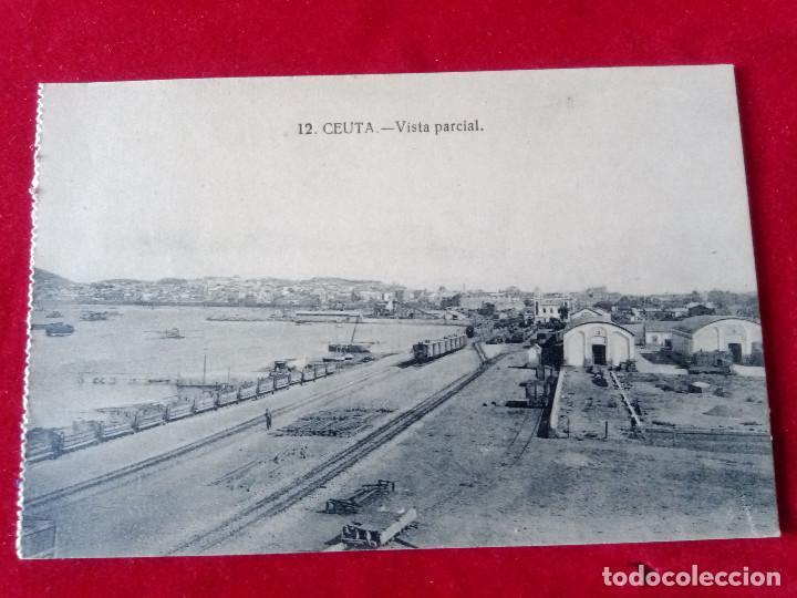 Postales: W.- 24.- LOTE DE -- 2-- POSTALES DE -- CEUTA -- 6.- 12.- VISTA PARCIAL .- SIN CIRCULAR - Foto 2 - 194217557