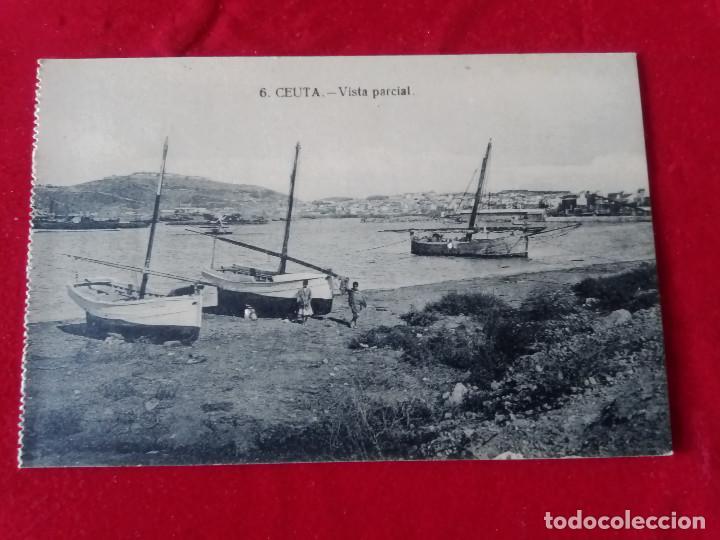 Postales: W.- 24.- LOTE DE -- 2-- POSTALES DE -- CEUTA -- 6.- 12.- VISTA PARCIAL .- SIN CIRCULAR - Foto 3 - 194217557