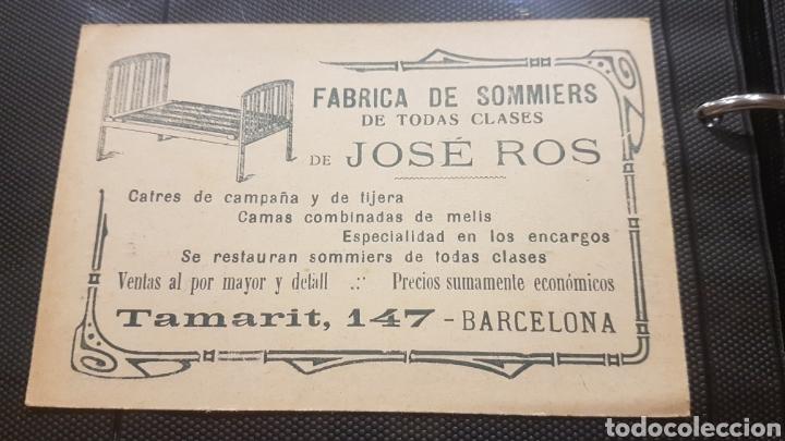 Postales: Cromo fabrica de sommiers - Foto 2 - 194245538