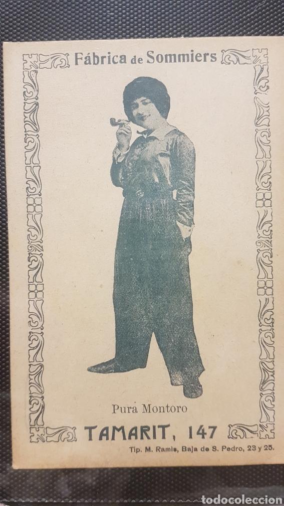 CROMO FABRICA DE SOMMIERS (Postales - España - Ceuta Antigua (hasta 1939))