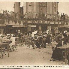 Postales: BARCELONA.ALMACENES JORBA.TERRAZA DEL CAFÉ.POSTAL MUY ANTIGUA,NUEVA SIN CIRCULAR. Lote 194401985
