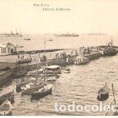 Postales: POSTAL CEUTA. EL MUELLE. 73-228. Lote 194711182