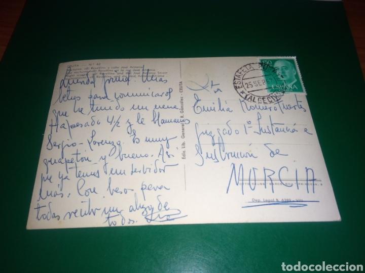 Postales: Antigua postal de Ceuta. El Revellín. Años 60 - Foto 2 - 195017275