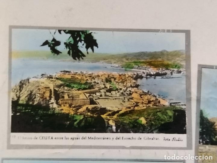 Postales: CEUTA-VARIAS VISTAS-AUTOBUS-BARCO-FOTO COLOR CASA RUBIO-POSTAL FOTOGRAFICA ANTIGUA-(68.606) - Foto 3 - 196525772