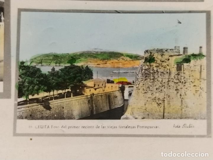 Postales: CEUTA-VARIAS VISTAS-AUTOBUS-BARCO-FOTO COLOR CASA RUBIO-POSTAL FOTOGRAFICA ANTIGUA-(68.606) - Foto 7 - 196525772