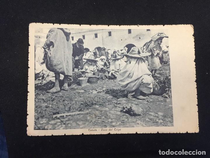 POSTAL TETUAN ZOCO DEL TRIGO 13 CLICHE MARTINEZ Y SANZ 1912 INSCRITA NO CIRCULADA MARRUECOS (Postales - España - Ceuta Antigua (hasta 1939))